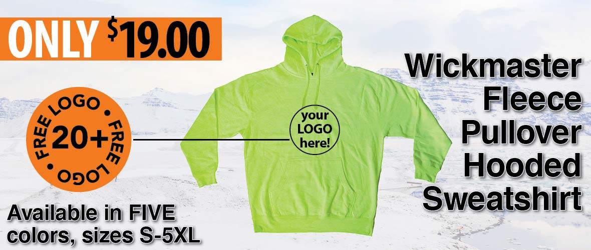 Wickmaster CS7001 performance hoodie – compare to Gildan 12500